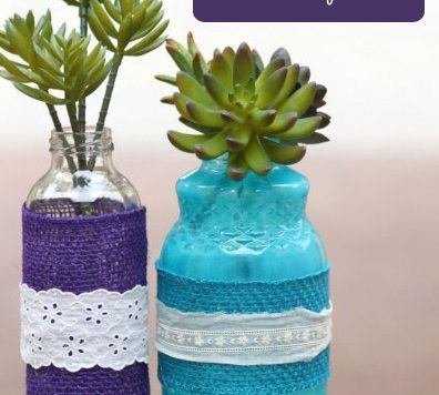 Designer Inspired Succulent Centerpiece - As a budget crafter, it's fun to make my own version of an expensive items for pennies. I had seen faux succulent centerpieces at a home decor store and knew I had to make it myself.