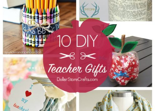 10 Cute DIY Teacher Gifts (budget-friendly!)