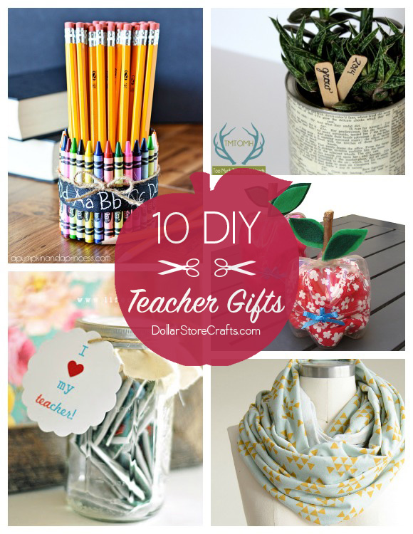 10 Cute DIY Teacher Gifts (budget-friendly!)