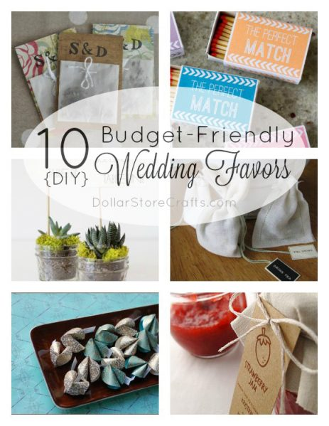 Dollar Store Crafts Blog Archive 10 DIY Wedding Favors On A Budget Dollar Store Crafts