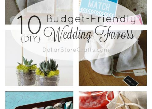 Crafty Wedding Ideas 10 Diy Favors On A Budget