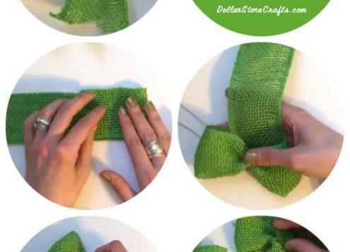 Tutorial: Easy Shamrock Bow