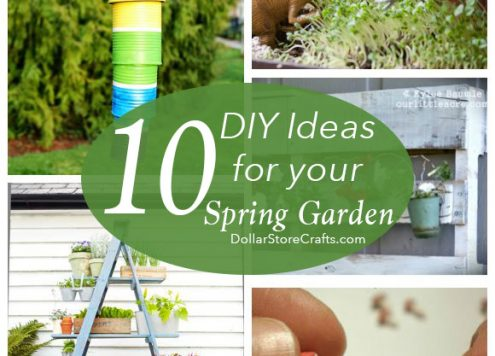 10 Cute Garden Crafts for Your Spring Garden