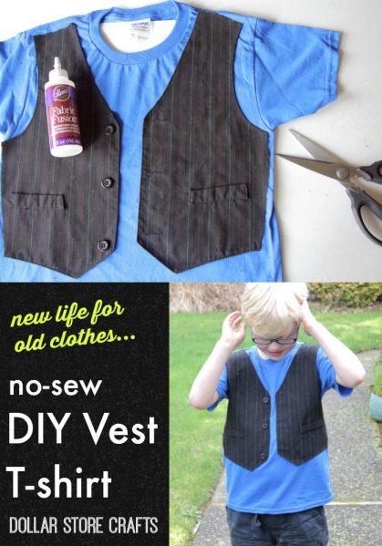 No Sew Vest T-shirt
