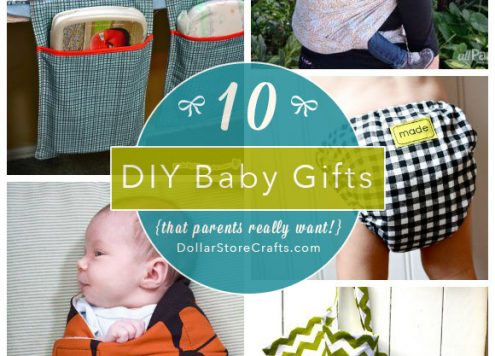 10 DIY Baby Gifts that New Parents Need