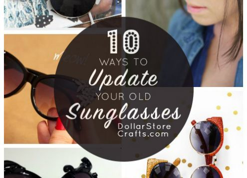 10 Ways to Update Last Year's Sunglasses