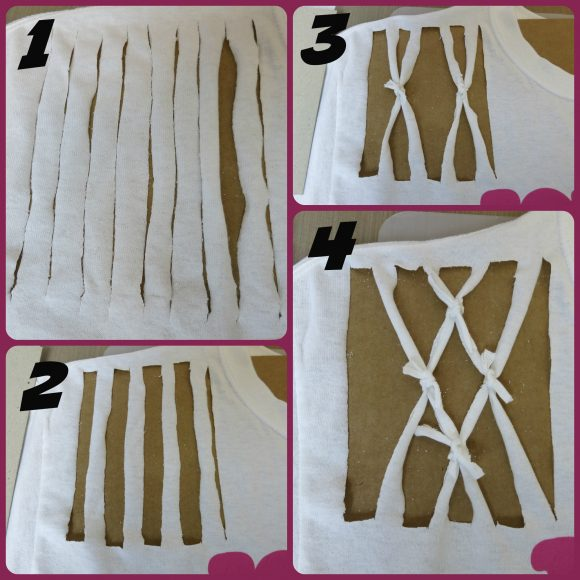 how to cut t-shirt
