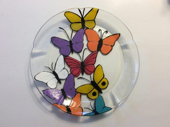 glass plate suncatcher