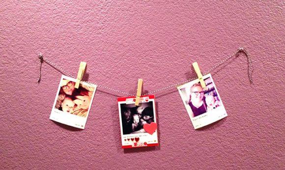 Make an Easy Photo Wall