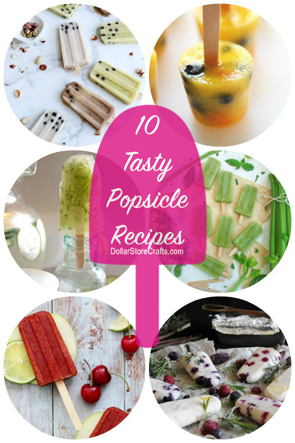 10 Popsicles to Make this Weekend