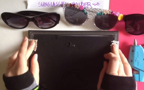 sunglasses holder