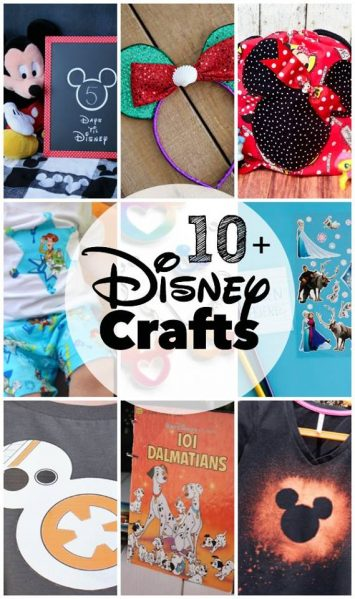 10+ Disney crafts to make