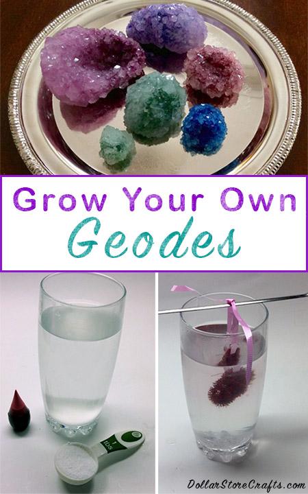 Tutorial  Diy Geodes  U00bb Dollar Store Crafts