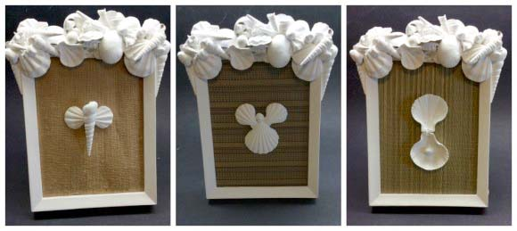 Want a unique way to display the shells you collect at the beach this summer?  Try making this easy picture frame!