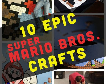 If you grew up with the Mario Brothers, these Super Mario Bros crafts will warm up your heart.