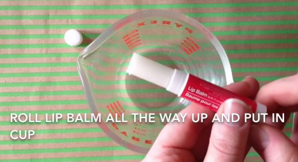 eye shadow balm step 1