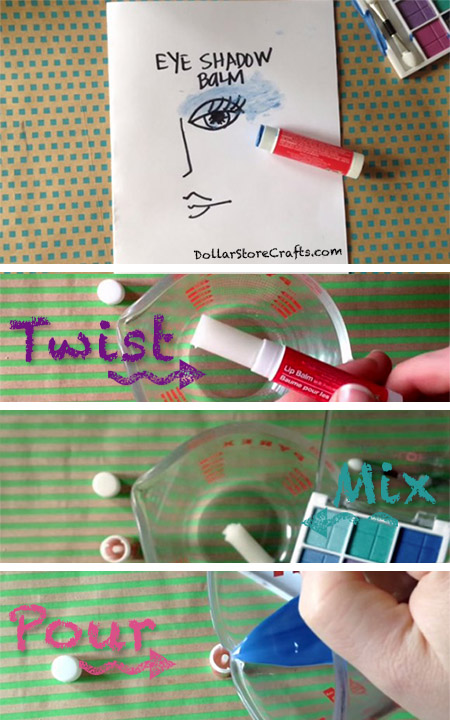 Tutorial: DIY Eye Shadow Balm