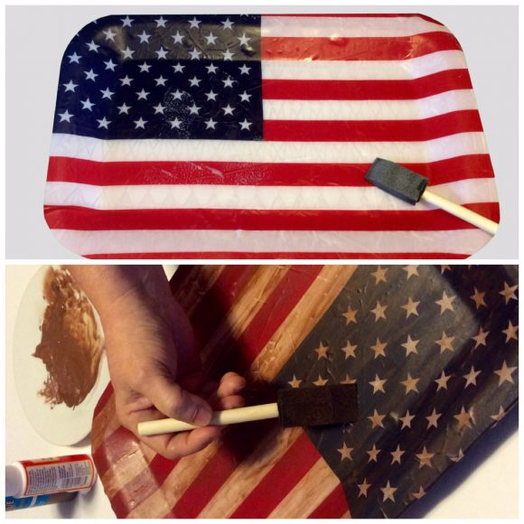 DIY Flag Tray