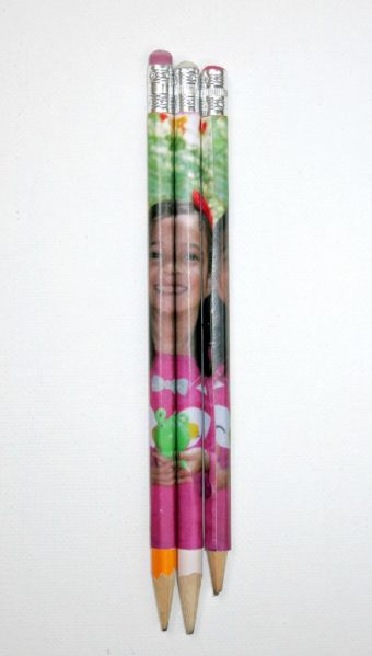 DIY Custom Photo Pencils