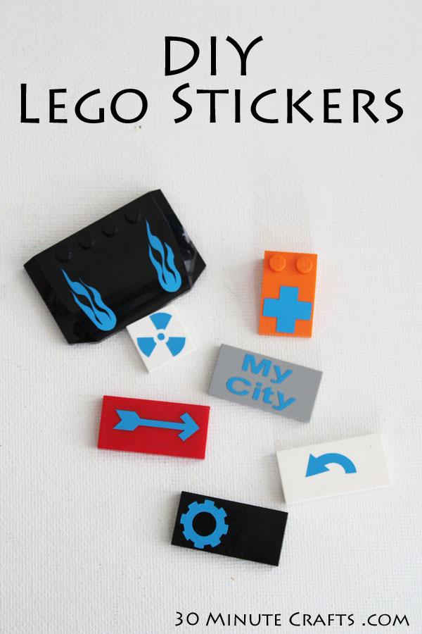 Make Custom Lego Blocks 187 Dollar Store Crafts