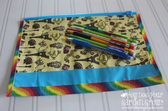 Easy DIY Pencil Case