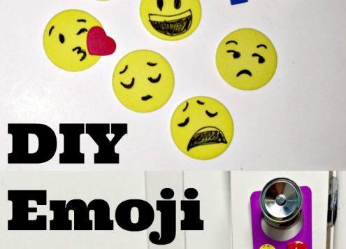 DIY Emoji Stickers