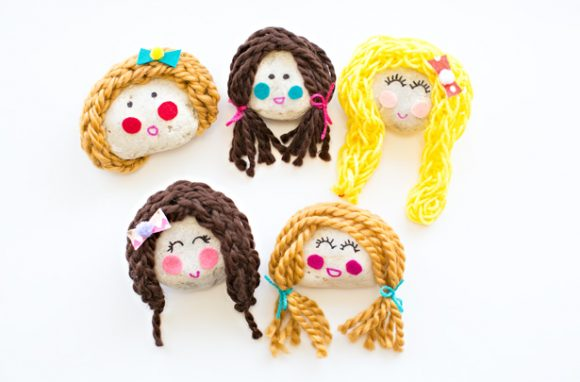 rock doll faces