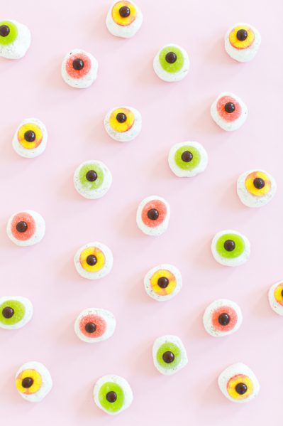 Make Monster Eyeball Donuts