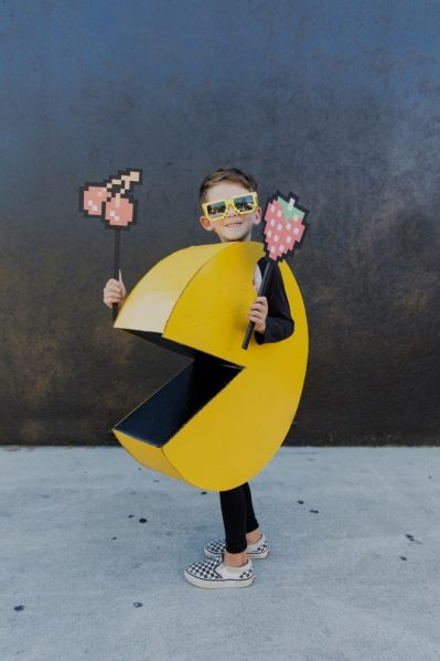 DIY Pac Man costume