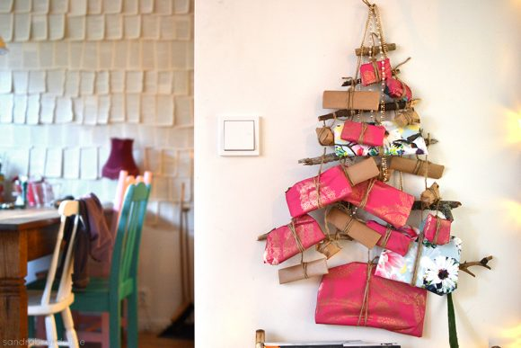 Make a Twig Tree Advent Calendar