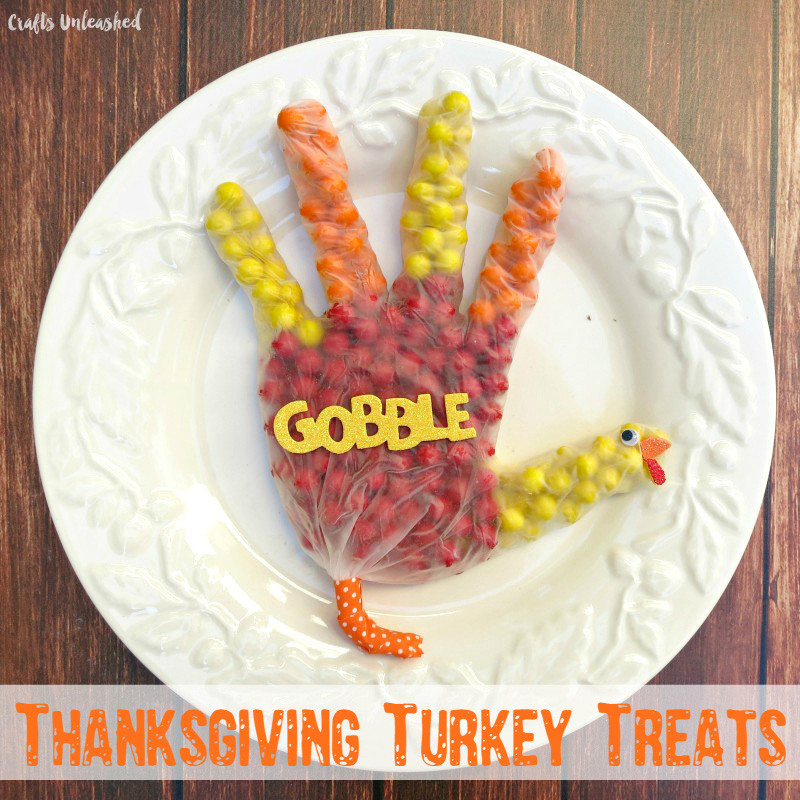 Make Thanksgiving Turkey Treats Dollar Store Crafts