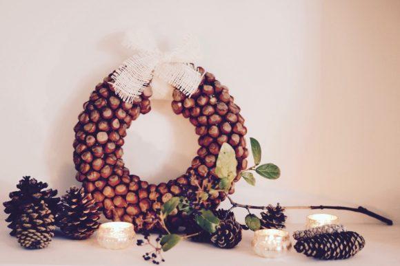 Hazelnut Fall Wreath