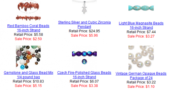 Fire Mountain Gems Sale