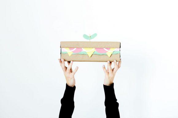 sandwich gift box