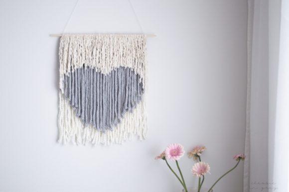 Make a Heart Wall Hanging