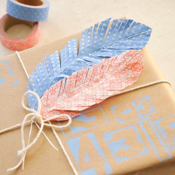 washi-tape-feathers