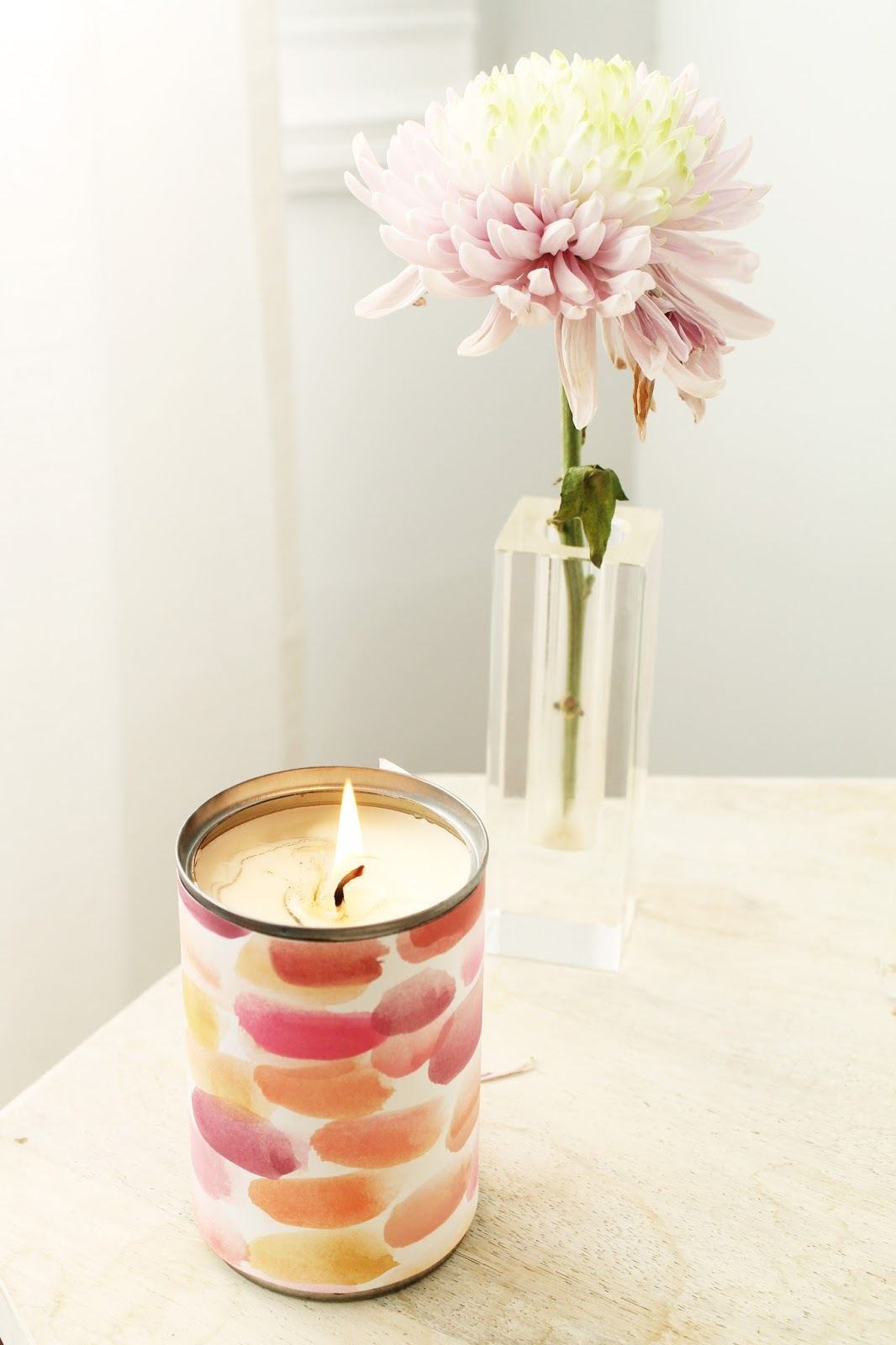 recycled can candles