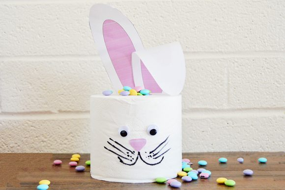 Toilet Paper Easter Bunny
