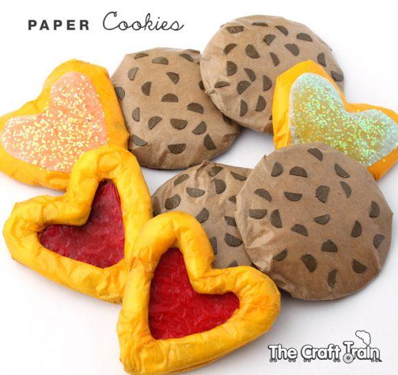 DIY Paper Cookies