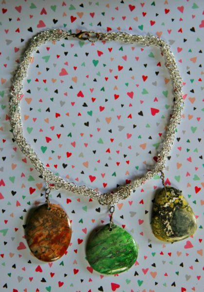 Statement Stone Necklace Tutorial