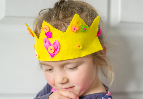 No Sew Felt Crowns