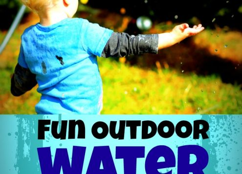 Kid Water Play Ideas (With dollar store supplies)