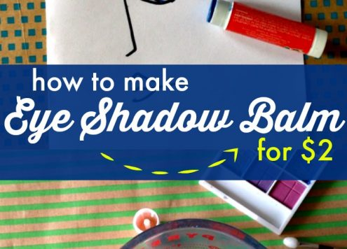 DIY Eyeshadow Balm