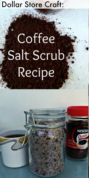 5 Minute DIY Coffee Coconut Sea Salt Scrub