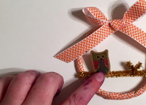 Make Tiny Owl Wreaths