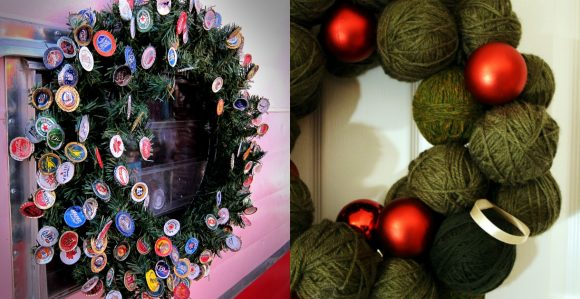 11 Creative Christmas Wreaths to Make