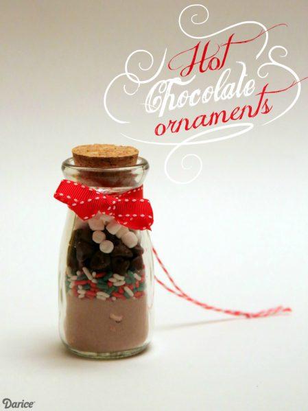 DIY Hot Cocoa Mix Ornament Gift Idea