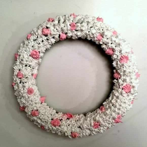 Tea & Frosting Decoden Wreath