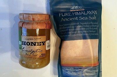 HImalayan Sea Salt & Honey Scrub Recipe - Dollar Store Crafts