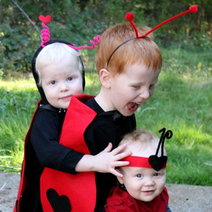No-Sew Ladybug Costume - Dollar Store Crafts